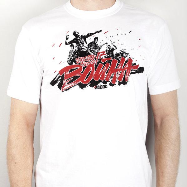 Lumen: белая футболка «Всегда 17 – всегда война»