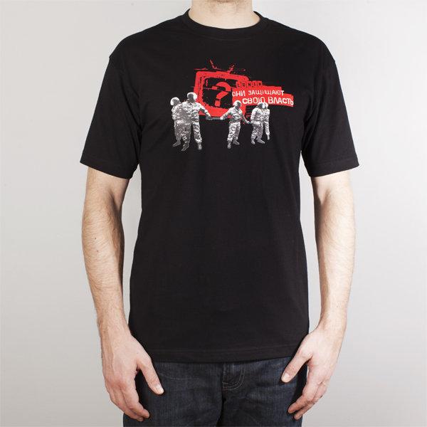 Lumen: черная футболка (T-59-B)
