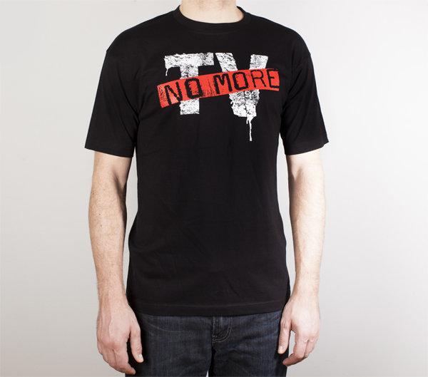 Lumen: черная футболка (T-58-B)