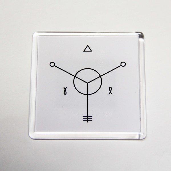 Animal ДжаZ: магнит «Хранитель весны» (белый)