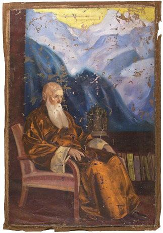 С.Н. Рерих (1946-1947), холст, масло, 184 х 123 см